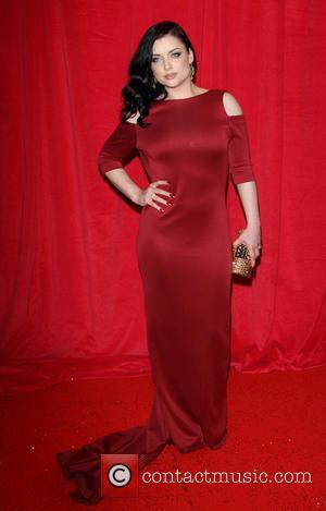 Shona McGarty - British Soap Awards 2014 - Red Carpet arrivals - at the Hackney Empire, London - London, United...