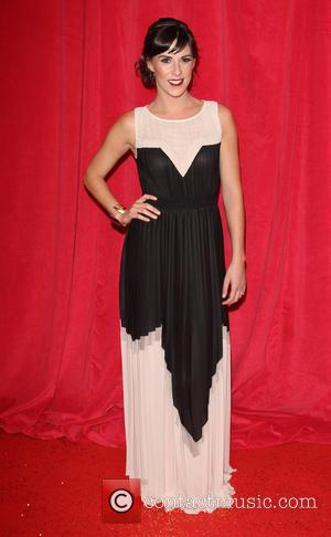 Verity Rushworth - British Soap Awards 2014 - Red Carpet arrivals - at the Hackney Empire, London - London, United...