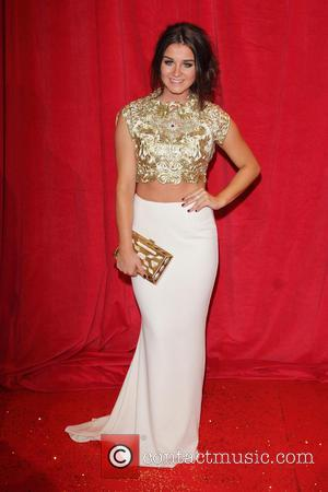 Brooke Vincent - British Soap Awards 2014 - Red Carpet Arrivals - at the Hackney Empire, London - London, United...