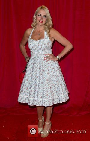 Nancy Sorrell - The British Soap Awards 2014 held at Hackney Empire - Arrivals - London, United Kingdom - Saturday...