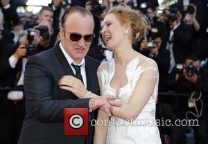 Quentin Tarantino and Uma Thurman