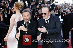 Uma Thurman, Franco Nero and Quentin Tarantino - The 67th Annual Cannes Film Festival - Closing Ceremony - Arrivals -...