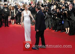 Uma Thurman and Quentin Tarantino - The 67th Annual Cannes Film Festival - Closing Ceremony - Arrivals - Cannes, France...