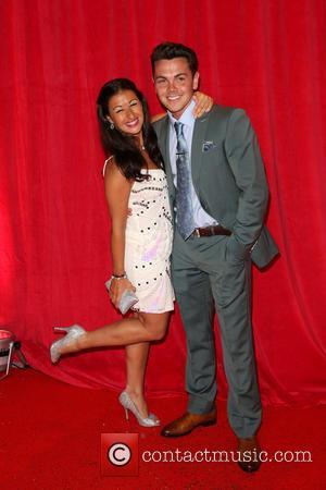 Hayley Tamaddon and Ray Quinn - The British Soap Awards 2014 held at Hackney Empire - Arrivals - London, United...