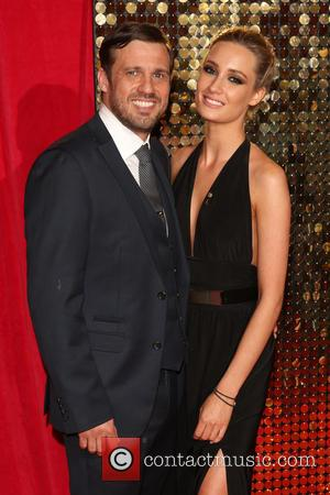 Jamie Lomas and Chloe Peers - The British Soap Awards 2014 held at Hackney Empire - Arrivals - London, United...