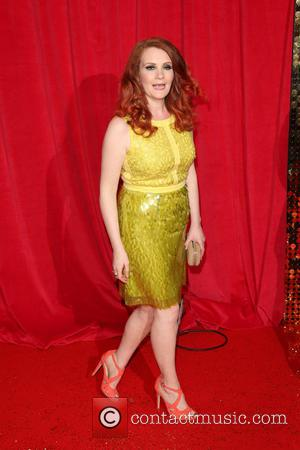 Jennie McAlpine - The British Soap Awards 2014 held at Hackney Empire - Arrivals - London, United Kingdom - Saturday...