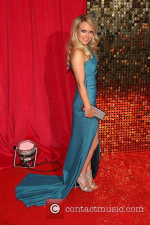 Michelle Hardwick - The British Soap Awards 2014 held at Hackney Empire - Arrivals - London, United Kingdom - Saturday...