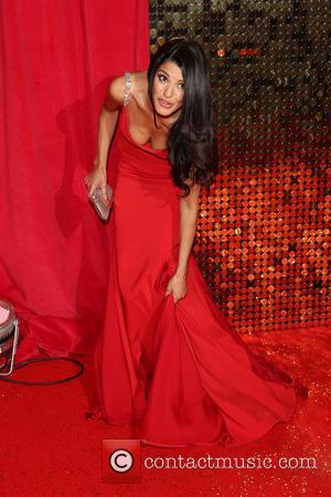Natalie Anderson - The British Soap Awards 2014 held at Hackney Empire - Arrivals - London, United Kingdom - Saturday...
