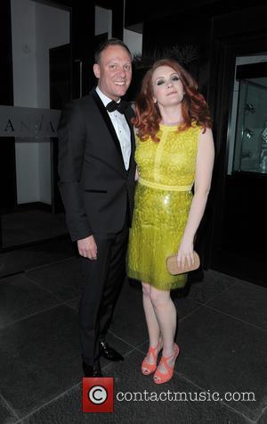 Antony Cotton and Jennie Mcalpine