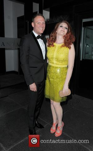 Antony Cotton and Jennie McAlpine - Celebrities leaving their hotel to attend the British Soap Awards - London, United Kingdom...