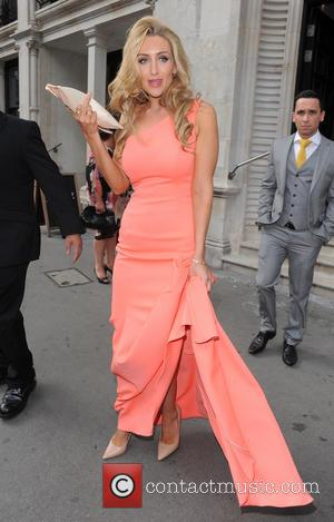 Catherine Tyldesley - Celebrities leaving their hotel to attend the British Soap Awards - London, United Kingdom - Saturday 24th...