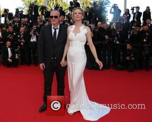 Quentin Tarantino and Uma Thurman - The 67th Annual Cannes Film Festival - Closing Ceremony - Arrivals - Cannes, France...
