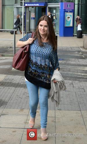 Debbie Rush - Cast members of 'Coronation Street' arrive at Manchester Piccadilly train station after attending the British Soap Awards...