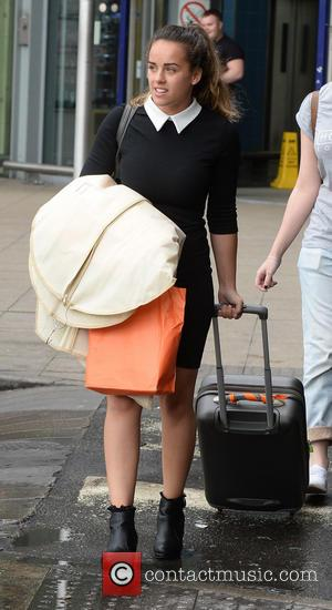 Georgia May Foote - Cast members of 'Coronation Street' arrive at Manchester Piccadilly train station after attending the British Soap...