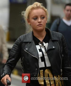 Katie Mcglynn - Cast members of 'Coronation Street' arrive at Manchester Piccadilly train station after attending the British Soap Awards...