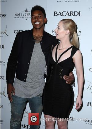 Nick Young and Iggy Azalea - Power 106'd DJ E-Man Birthday Celebration Featuring Iggy Azalea, Mike Posner and Far East...