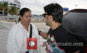 Luis Fonsi - Latin singer Luis Fonsi arrives at an airport in Puerto Rico - Carolina  Puerto Rico, Puerto...