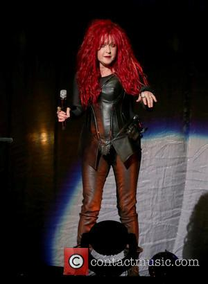 Cyndi Lauper - Cher In Concert at MGM Grand Garden Arena Las Vegas - Las Vegas, Nevada, United States -...