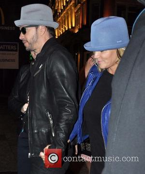 Donnie Wahlberg and Jenny McCarthy - Donnie Wahlberg and fiancee Jenny McCarthy visit Lillies Bordello - Dublin, Ireland - Sunday...