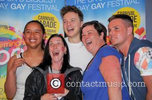 Conor Maynard, White Dee and Deirdre Kelly - Birmingham Pride 2014 - Day 2 - Birmingham, United Kingdom - Sunday...