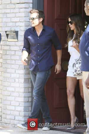 Len Wiseman and Kate Beckinsale - Kate Beckinsale and Len Wiseman seen at Joel Silvers Memorial Day party in Malibu....