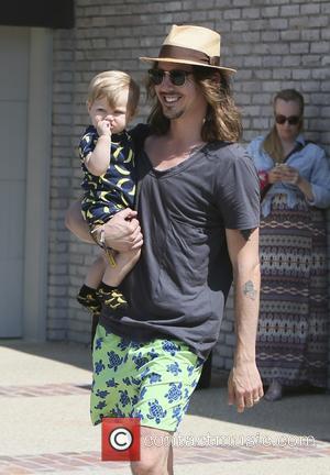 Cisco Adler - Cisco Adler and Barbra Stoyanoff seen at Joel Silvers Memorial Day party in Malibu. - Los Angeles,...