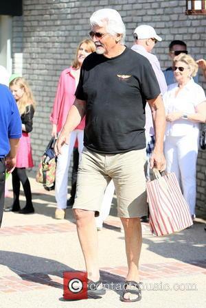 James Brolin - Barbra Streisand and James Brolin seen at Joel Silvers Memorial Day party in Malibu. - Los Angeles,...