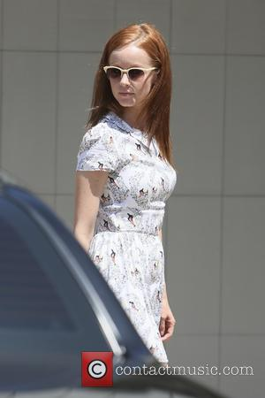 Lindy Booth - Lindy Booth and Jeff Wadlow seen at Joel Silvers Memorial Day party in Malibu. - Los Angeles,...