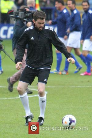Jack Whitehall - One Direction host a football match to raise funds for Irish Autism Action at King Power Stadium...