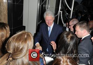 Bill Clinton - Bill Clinton seen arriving at Claridge's hotel - London, United Kingdom - Tuesday 27th May 2014