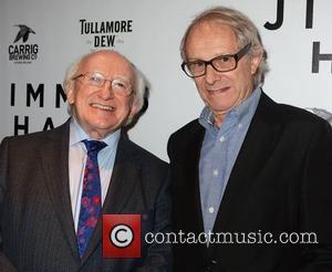 Michael D Higgins and Ken Loach