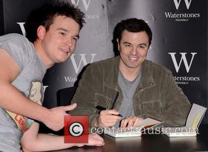 Seth MacFarlane - Seth MacFarlane signing copies of his debut novel 'A Million Ways to Die in the West' at...