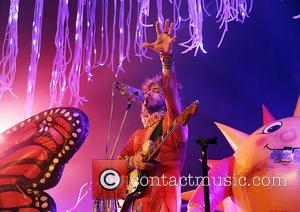 Wayne Coyne - The Flaming Lips performing live on stage at the Manchester O2 Apollo - Manchester, United Kingdom -...