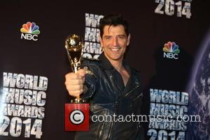 Sakis Rouvas - The 2014 World Music Awards at the Salle des Etoiles - Inside - Monte Carlo, Monaco -...