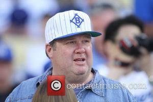 Eric Stonestreet - Celebrities watch the Los Angeles Dodgers v...