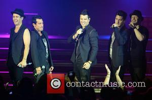 New Kids On The Block, Joey Mcintyre, Danny Wood, Jordan Knight, Jonathan Knight and Donnie Wahlberg