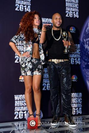 Natalie la Rose and Flo Rida - The 2014 World Music Awards at the Salle des Etoiles - Inside -...