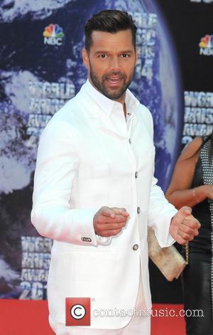 Ricky Martin - The 2014 World Music Awards at the Salle des Etoiles - Arrivals - Monte Carlo, Monaco -...