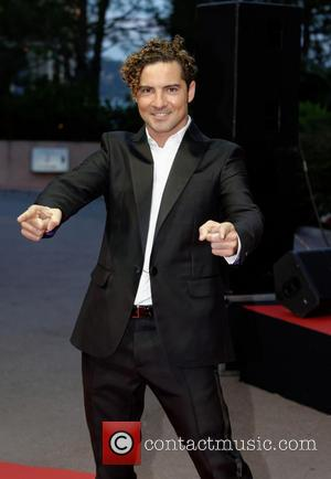 David Bisbal - The 2014 World Music Awards at the Salle des Etoiles - Arrivals - Monte Carlo, Monaco -...