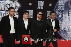 Patrick Stump, Pete Wentz, Joe Trohman and Andy Hurley - The 2014 World Music Awards at the Salle des Etoiles...