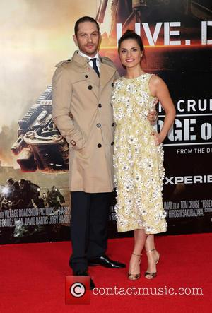 Charlotte Riley , Tom Hardy - World premiere of 'Edge Of Tomorrow' held at the BFI IMAX - Arrivals -...
