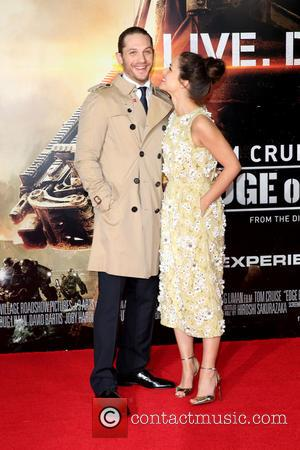 Charlotte Riley and Tom Hardy - World premiere of 'Edge Of Tomorrow' held at the BFI IMAX - Arrivals -...