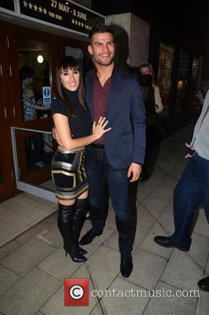 Janette Manrara and Aljaž Skorjanec - Press night for 'Flash Mob' at the Peacock Theatre - London, United Kingdom -...