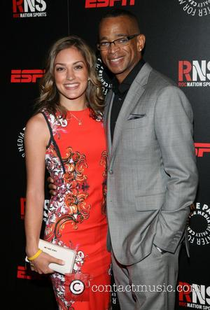 Kristin Spodobalski and Stuart Scott