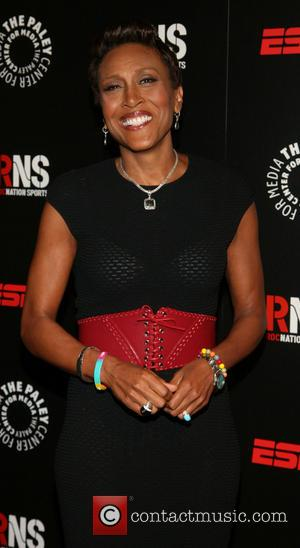 ROBIN ROBERTS. - Paley Prize Gala honoring ESPN's 35th anniversary presented by Roc Nation Sports - Arrivals - New York,...