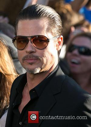 Brad Pitt's Red Carpet Attacker Caught Having Fun During Community Service