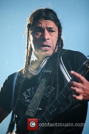 Metallica and Robert Trujillo - Sonisphere Festival held at Hietaniemi beach - Performances - Helsinki, Finland - Wednesday 28th May...