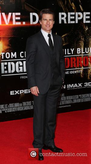 Tom Cruise - World premiere of 'Edge Of Tomorrow' held at the BFI IMAX - Arrivals - London, United Kingdom...