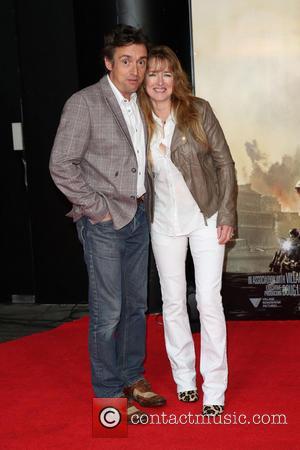 Richard Hammond and Amanda Etheridge - World premiere of 'Edge Of Tomorrow' held at the BFI IMAX - Arrivals -...