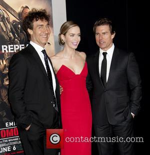 Doug Liman, Emily Blunt and Tom Cruise